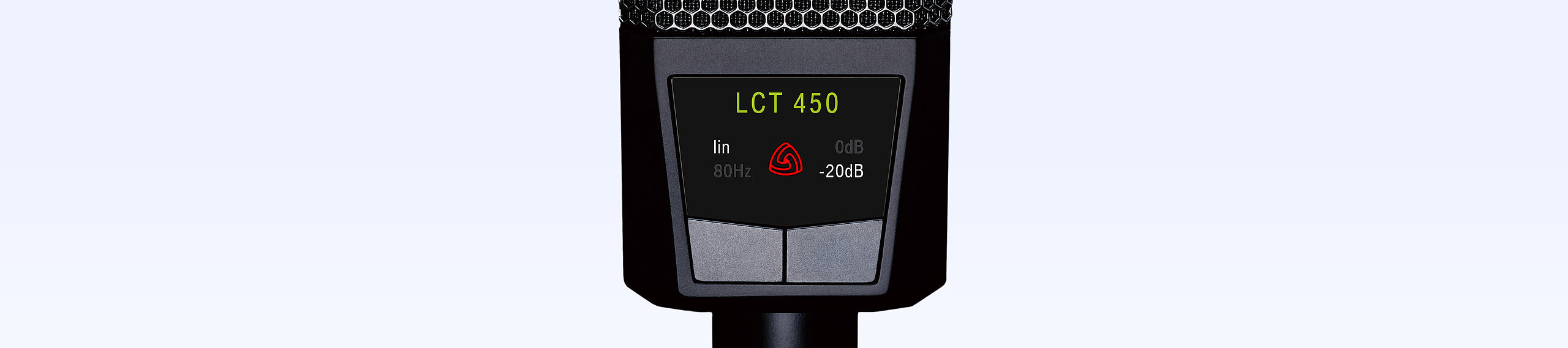 LCT 450 automatic attenuation