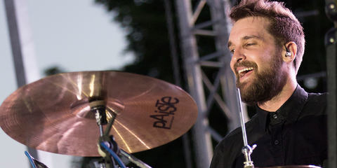 Sean Winchester using the DTP Beat Kit Pro 7 best Drum microphones