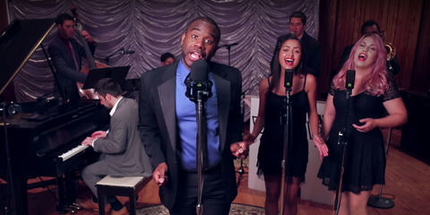 Postmodern Jukebox using high quality studio microphones from LEWITT
