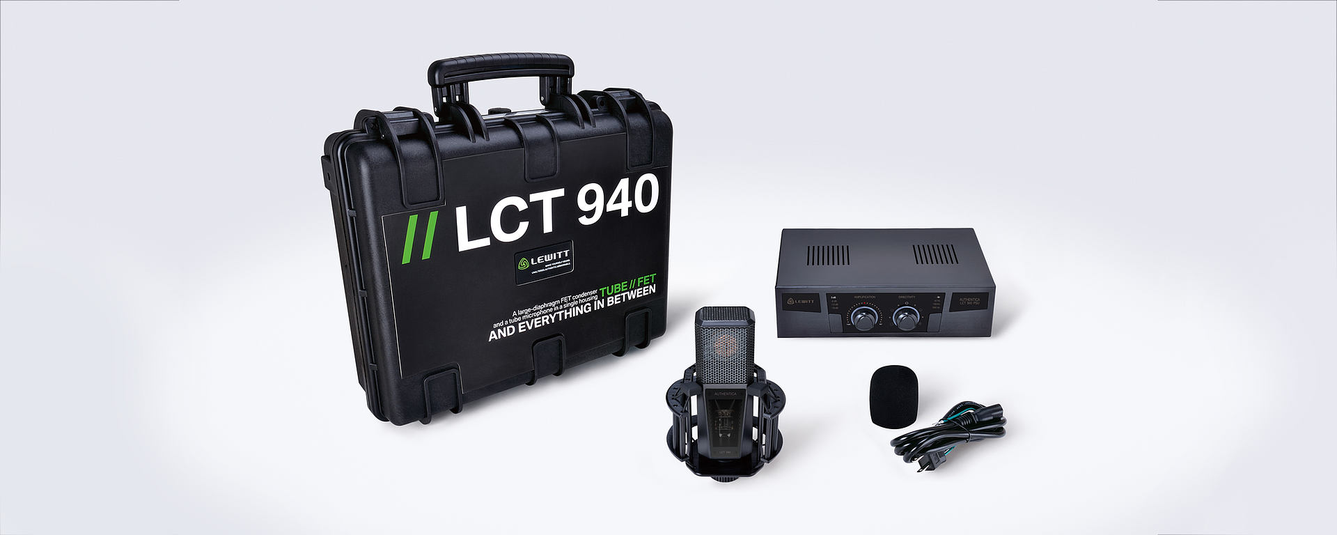 LCT 940 box content