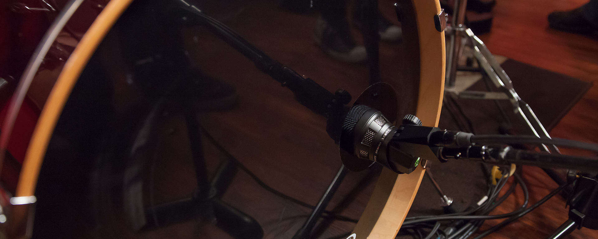 DTP 340 REX kick drum microphone