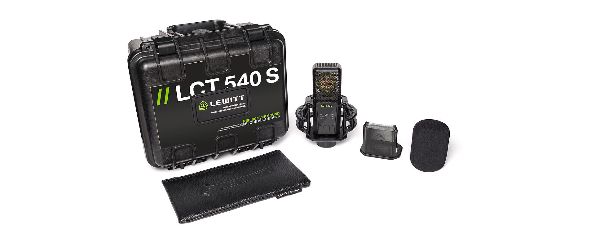 LCT 540 S Box content