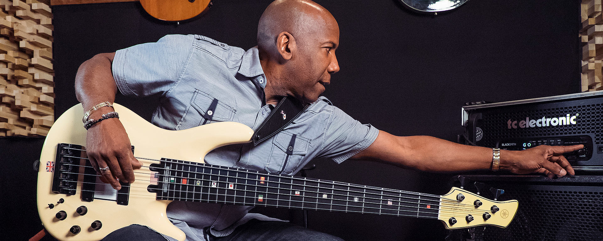Nathan East favorite mic is the LCT 840 multipattern tube studio microphone