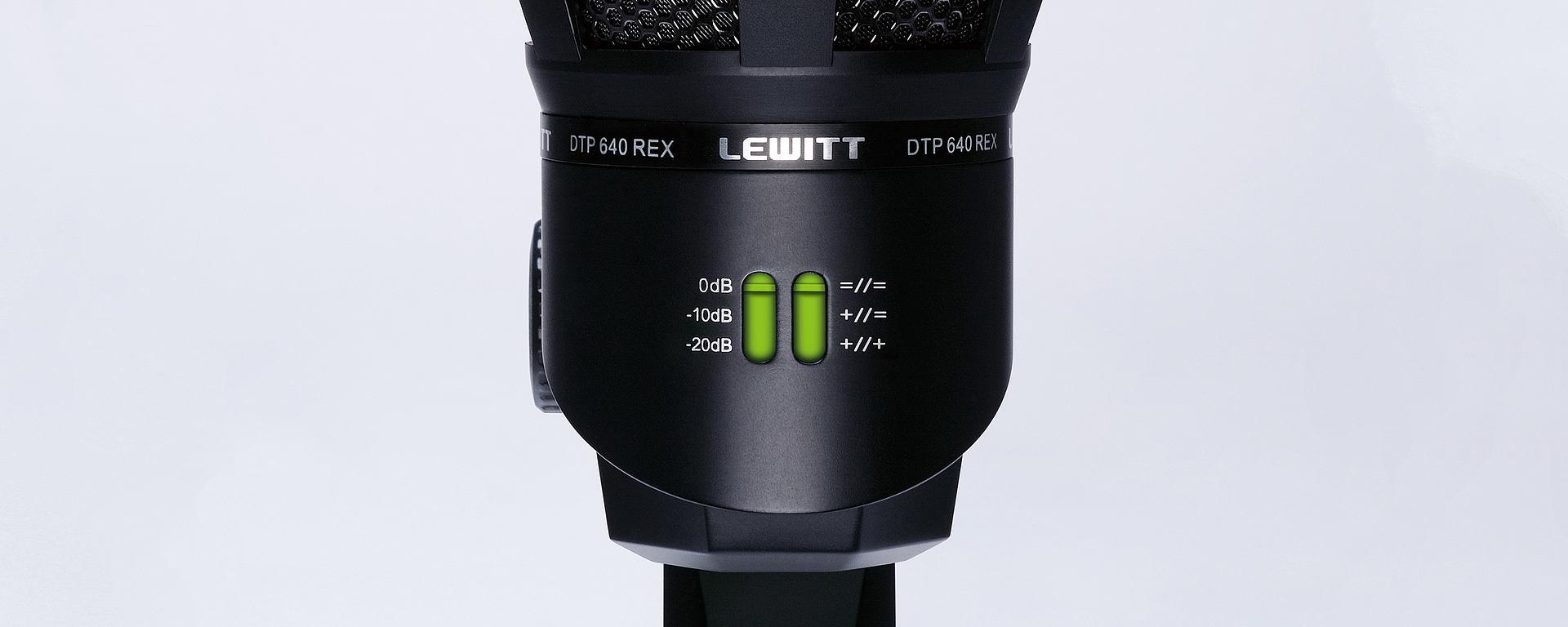 DTP 640 REX soundshaping modes