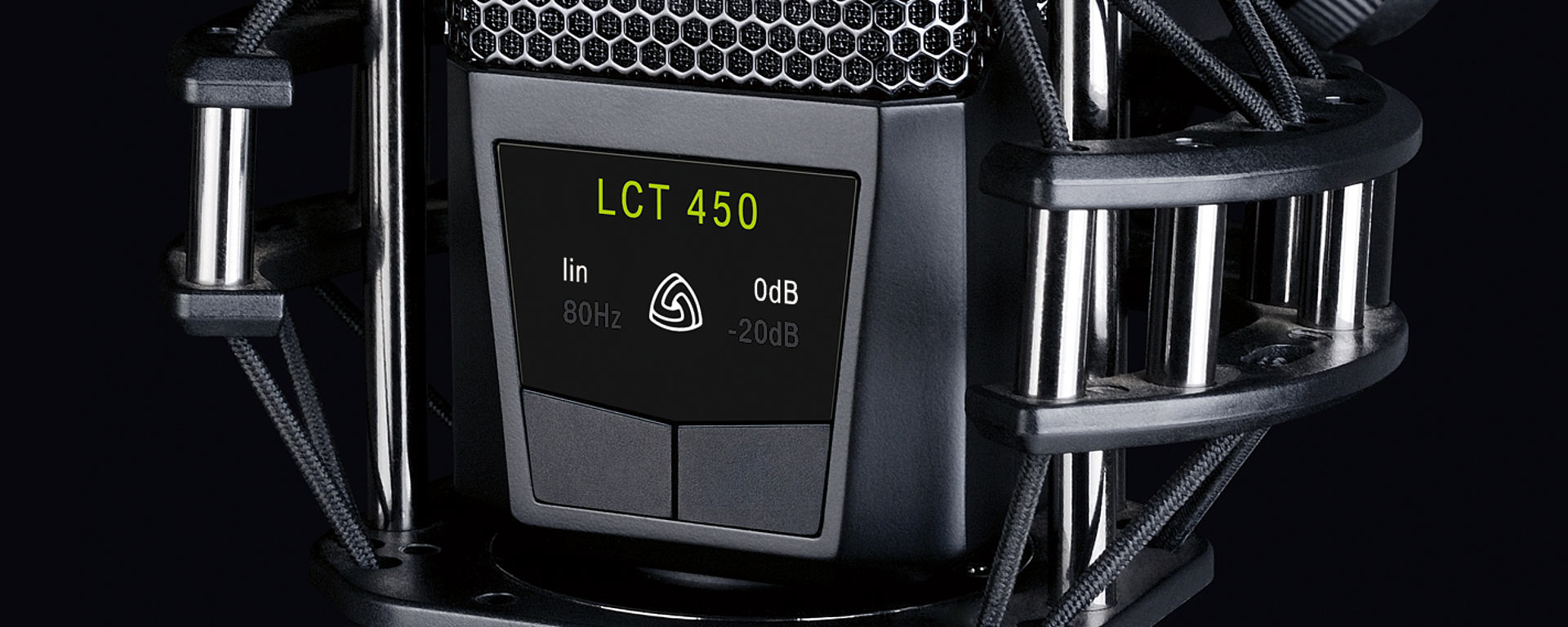 LCT 450 illuminated user interface