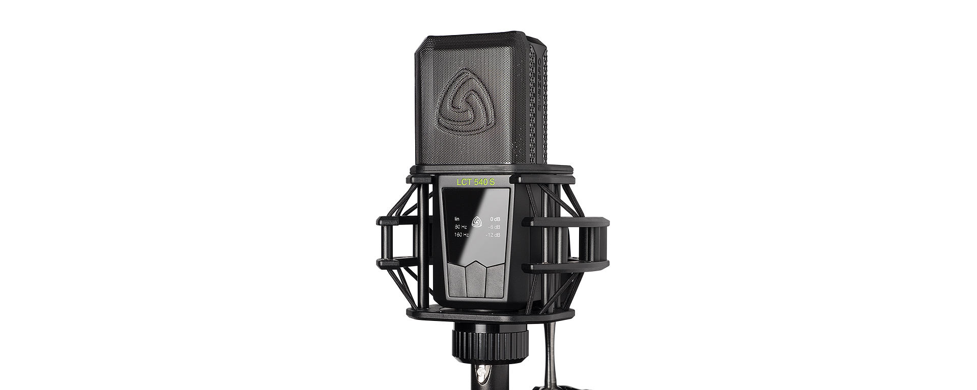 LCT 540 SUBZERO with shockmount and pop filter