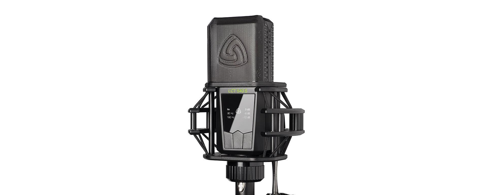 LCT 540 S pop filter shock mount mobile