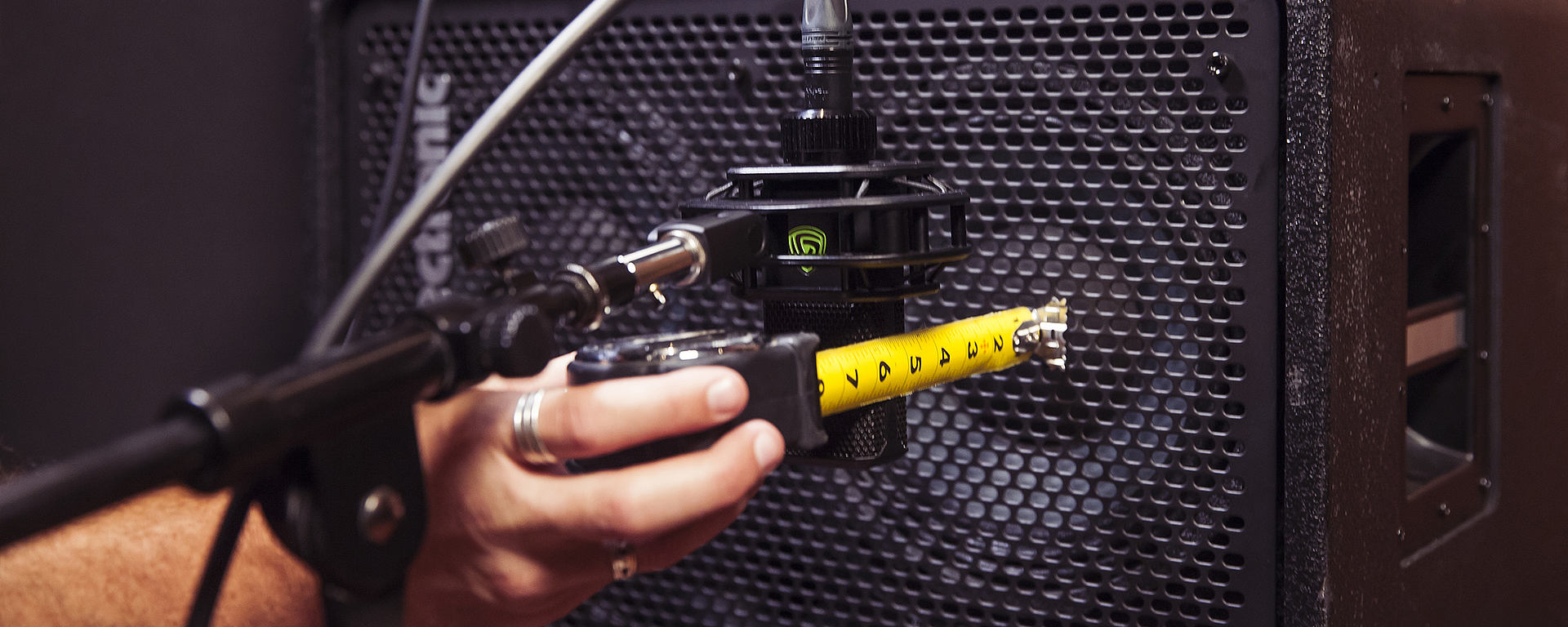 This image shows some of the microphones used at the huge LEWITT microphone shootout