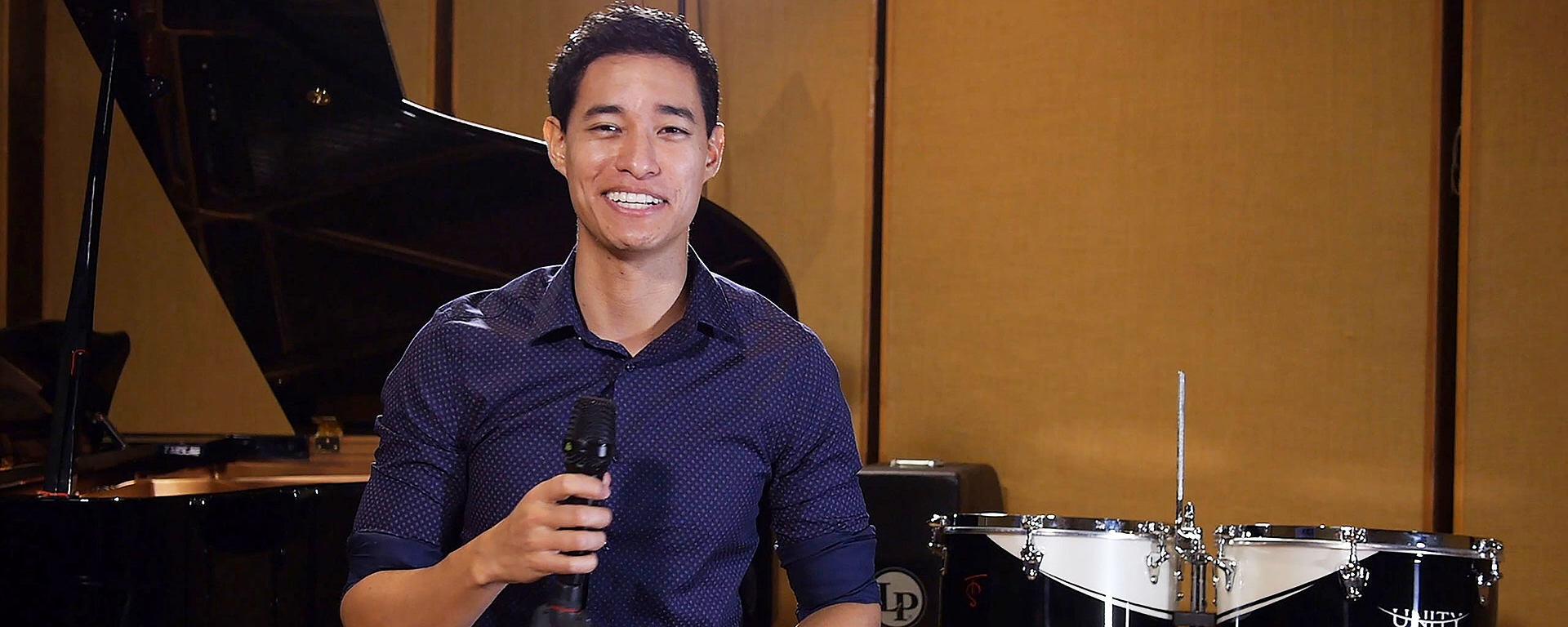 Tony Succar uses LEWITT microphones