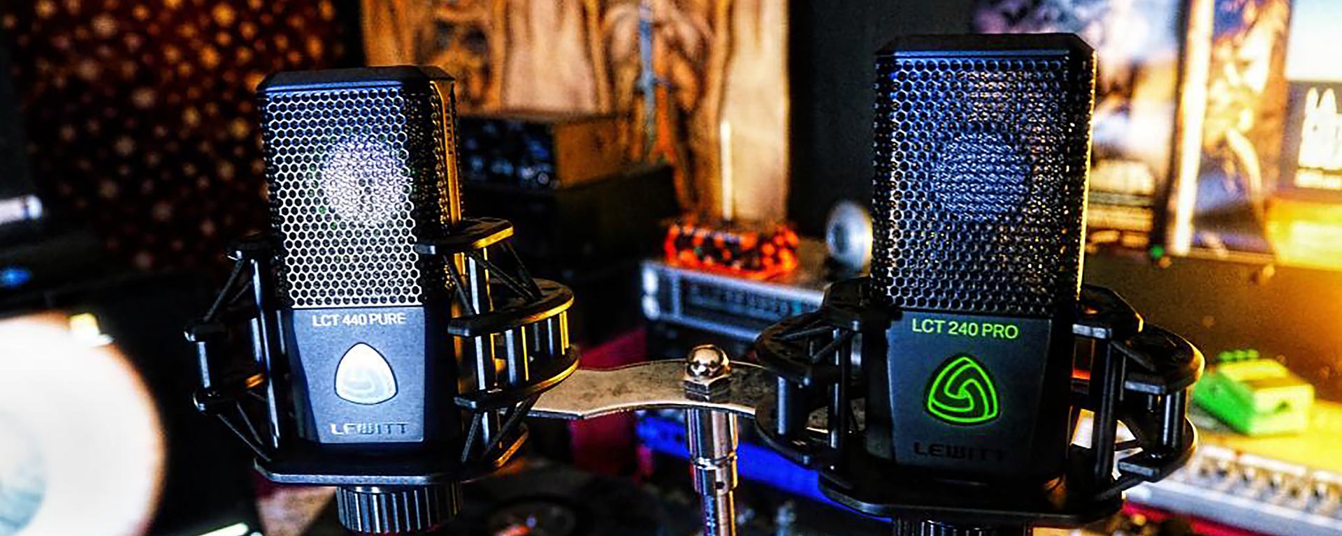 LCT 240 PRO best condenser mic for the money LCT 440 PURE best condenser microphone for small budget [Photo: ©Andrea Rocca]
