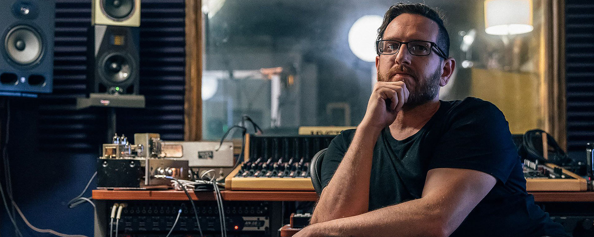 Matt Parmenter uses the LCT 840 in Ice Cream Factory Studios [Photo © Alex Masi - Swng Productions]
